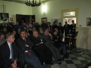 I partecipanti all'inaugurazione